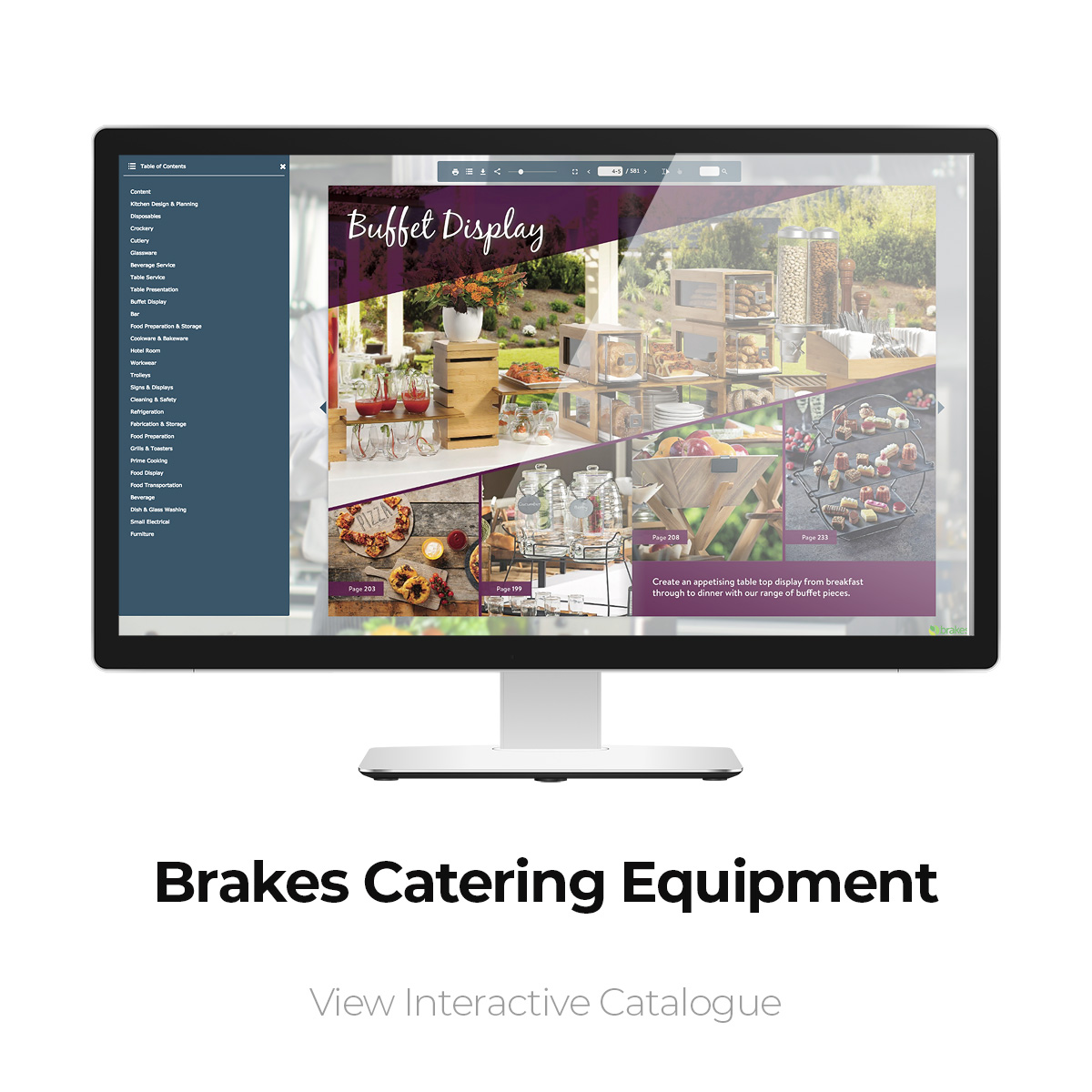 Brakes Catering Equipment Interactive Catalogue