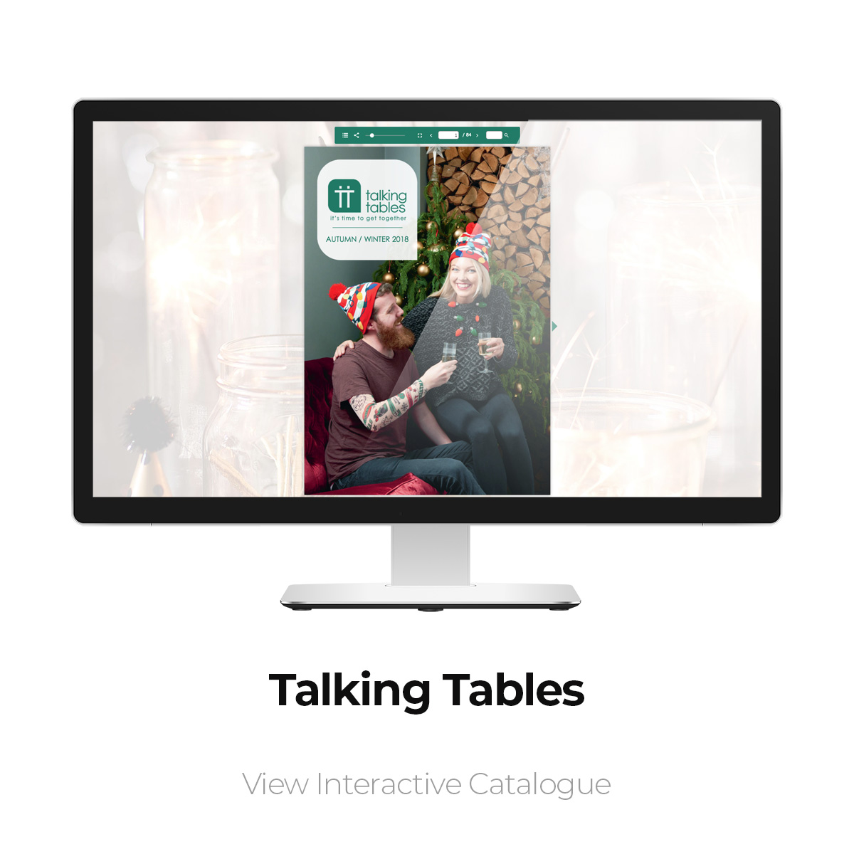 Talking Tables Interactive Catalogue